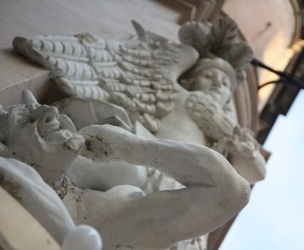 St. Michael squashing a demon