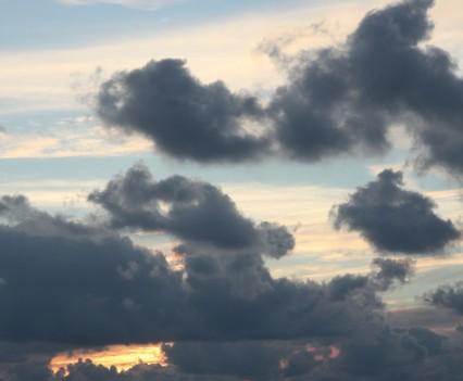 Sunset as the Azure Window